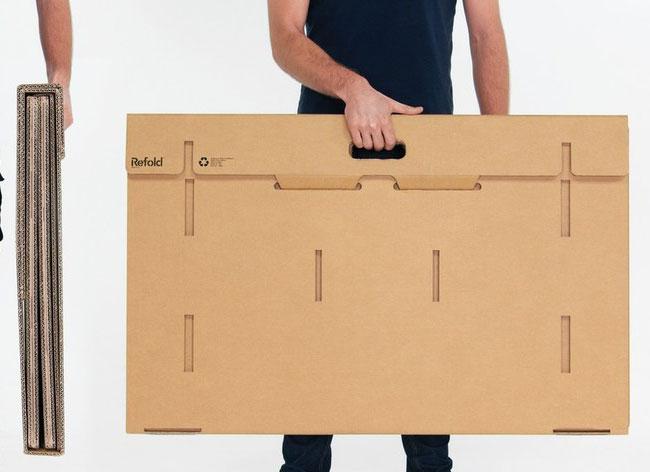 Le bureau en carton qui pourrait cartonner u lavieenrouge