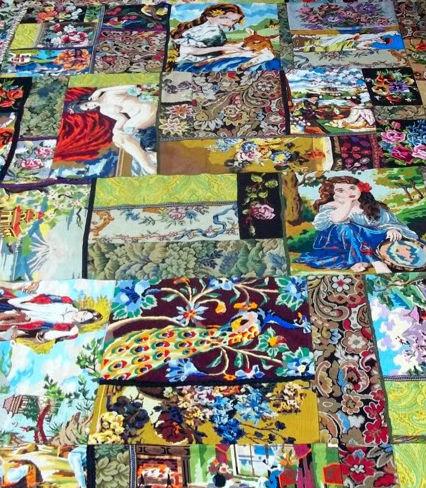 tapis fait main