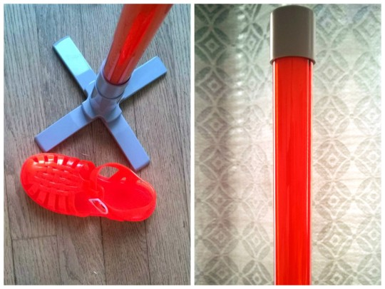 Lampe Néon orange 3