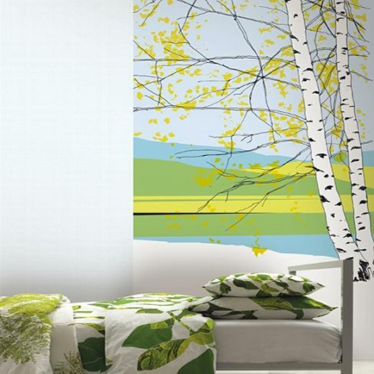copier coller la nature sur ses murs lavieenrouge. Black Bedroom Furniture Sets. Home Design Ideas