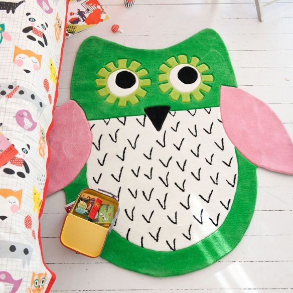 tapis-enfant-little-owl-emerald-designers-guild. 1