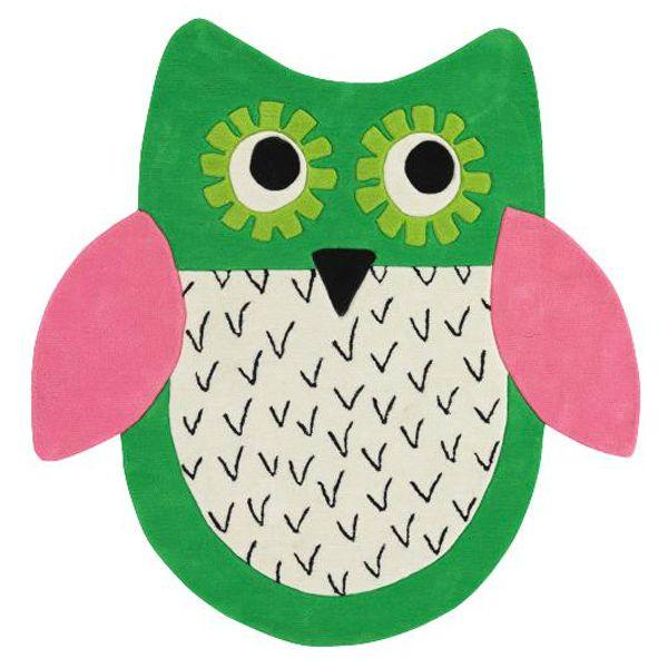 tapis-enfant-little-owl-emerald-designers-guild