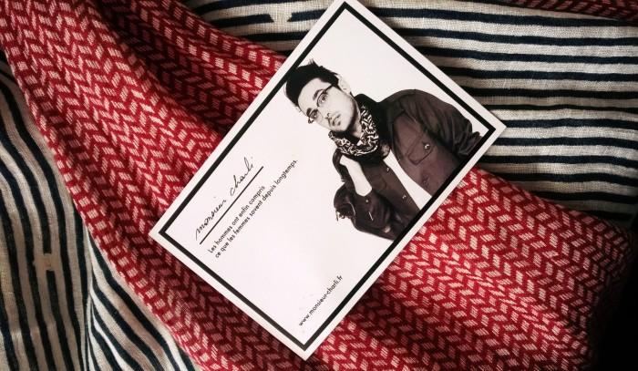 foulard pour homme Monsieur Charli