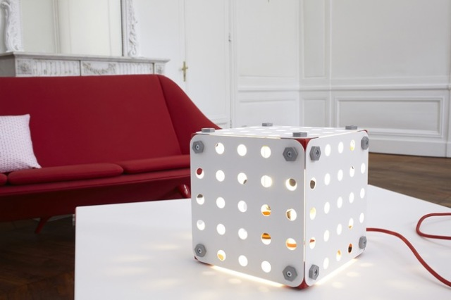 Lampes design lavieenrouge - Pieces detachees meccano ...
