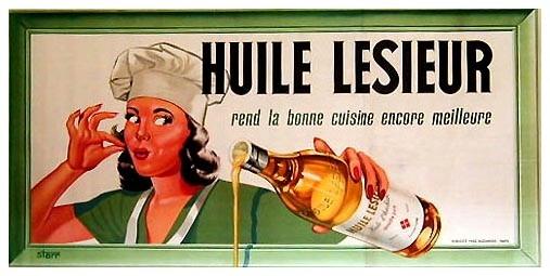 huile lesieur ancienne affiche
