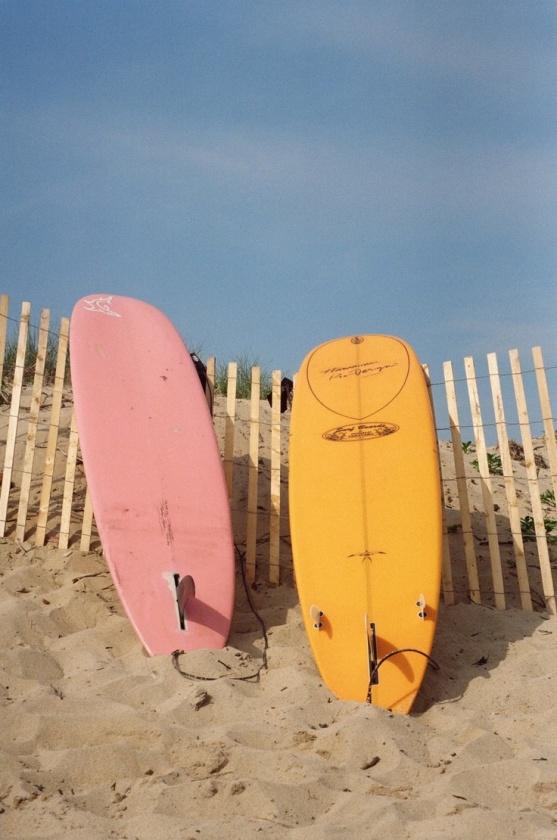 session de surf