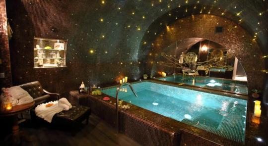 le spa de l'hôtel Da Vinci