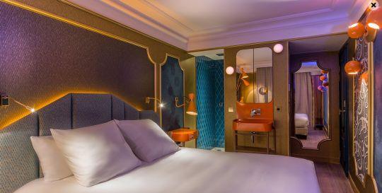 ma chambre hôtel idol Moon blue