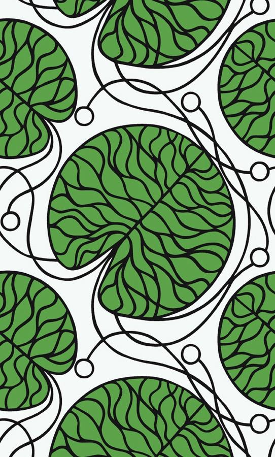 Papier peint tendance lavieenrouge - Marimekko papier peint ...