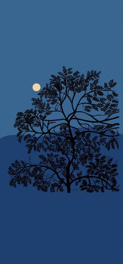 papier-peint-puu-kuutamossa-marimekko 1