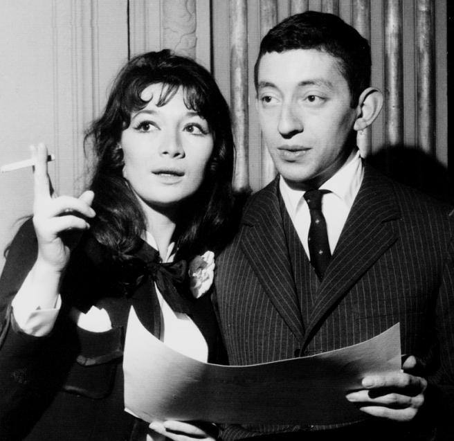 Serge Gainsbourg et Juliette Gréco