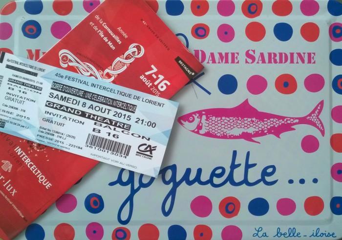 Grand théâtre festival interceltique de Lorient