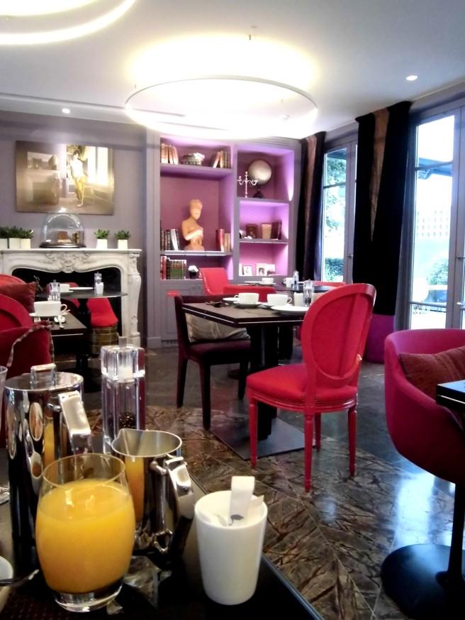hôtel La belle Juliette. Paris
