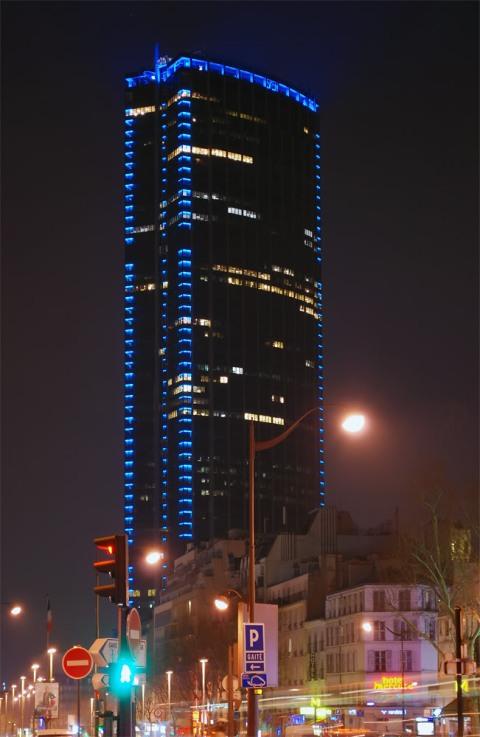 la tour Montparnasse,