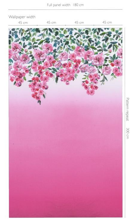 panneau-trailing-rose-designers-guild 1