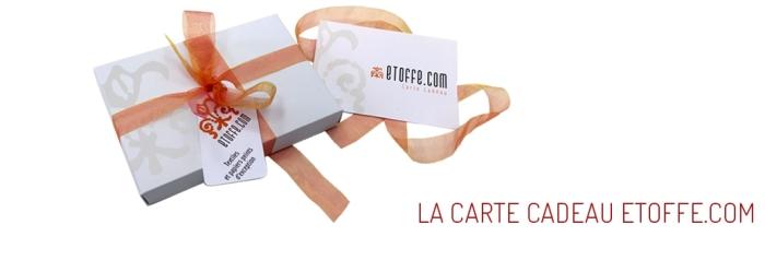 Carte cadeau etoffe.com
