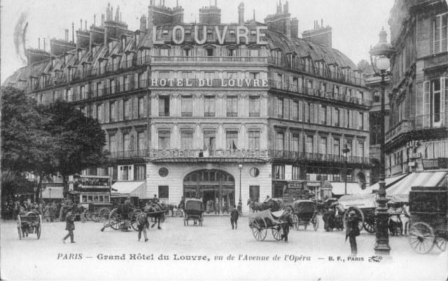 hotel-du-louvre Paris