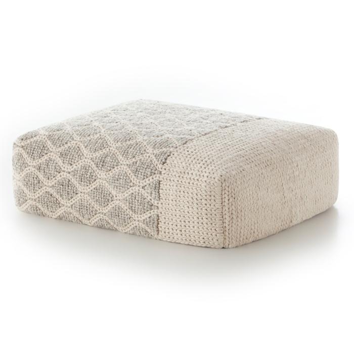pouf-rectangular-rhombus-ivory-gan-rugs