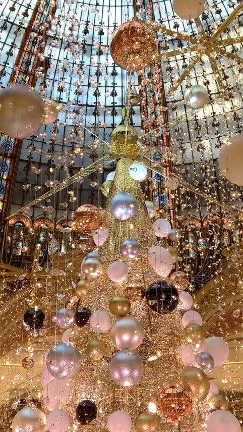 sapin des Galeries Lafayette