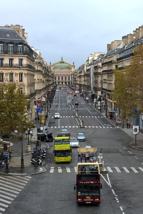 vue de l'hôtel du Louvre a