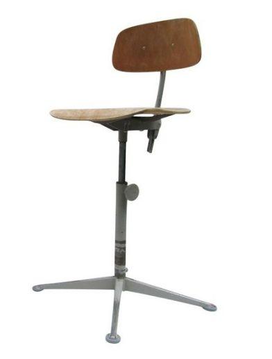 Chaise d'architecte industielle, Friso KRAMER - années 50