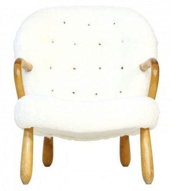 Fauteuil Clam Chair, Philip ARCTANDER - années 50;