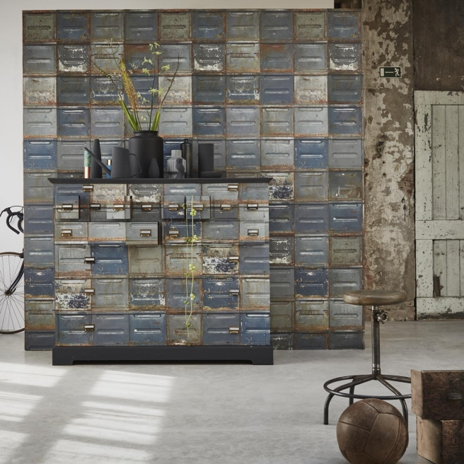 papier-peint-container-studio-ditte!