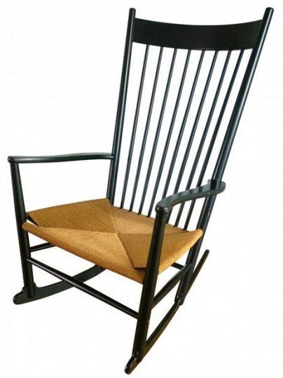 Rocking Chair J16 en hêtre, Hans WEGNER - 1966