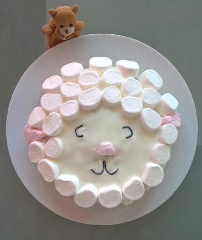 gâteau tête de brebis