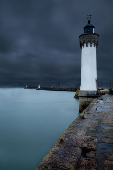 Le phare de Port Haliguen