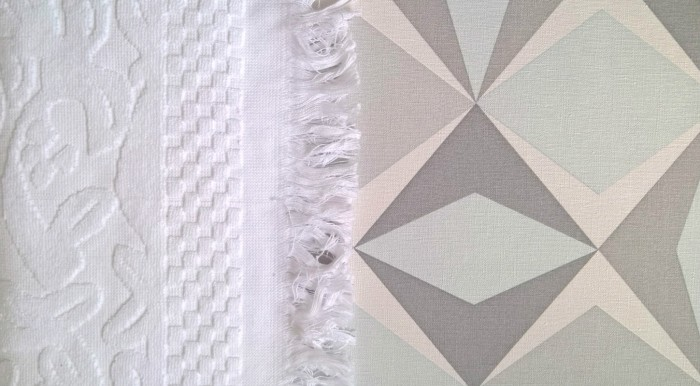 serviette blanche 1