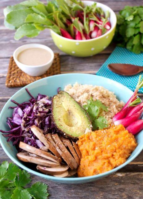 assiette végétale sans gluten greencuisine.fr