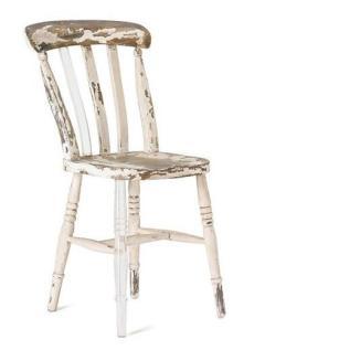 Chaise en bois et plexi