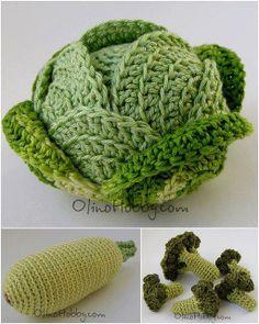 Légumes en laine