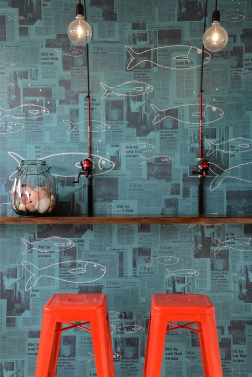 Tommy Ruff Fish Bar by studio equator