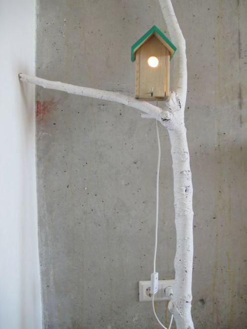 bird house lampe