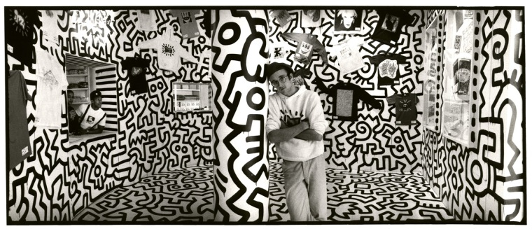 peintre keith haring