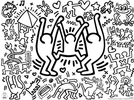 set-table-keith-haring-x24