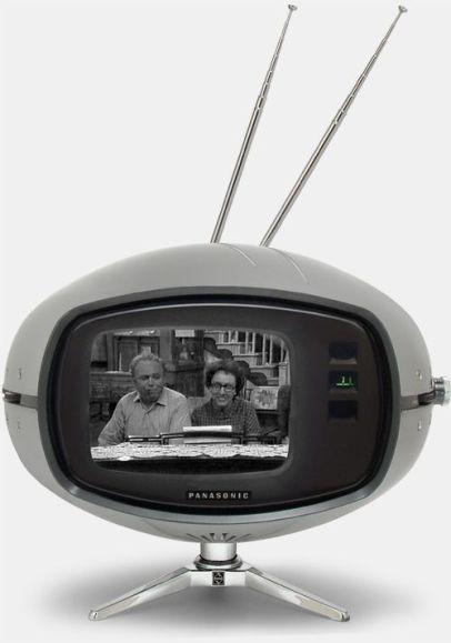 Vintage Panasonic Orbitel TR-005 Television
