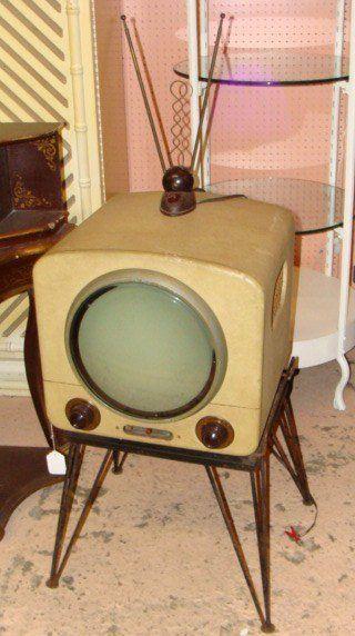 Vintage TV Télévision Electronics