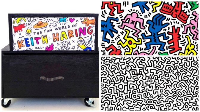Mon meuble en hommage à Keith Haring