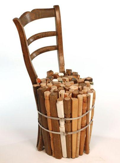 Chaise en bois 7