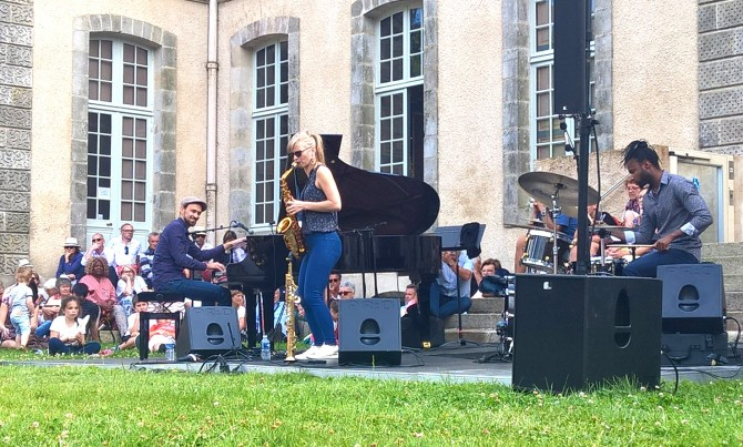Jazz à Kerguéhénnec