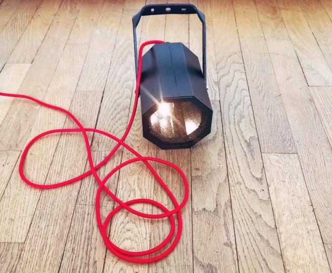 lampe haut-parleur