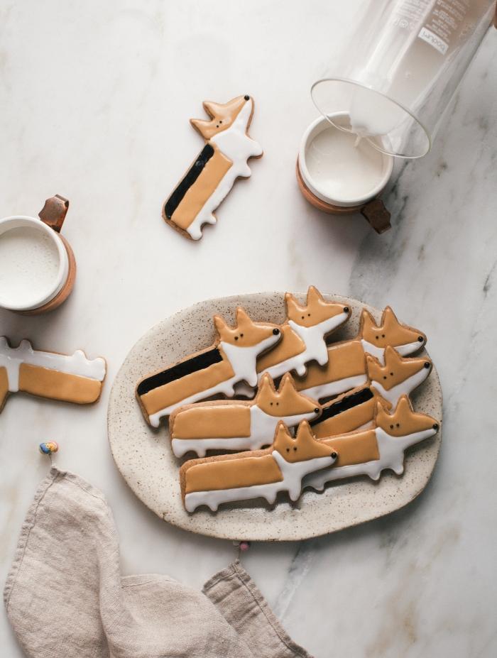 renards en chocolat