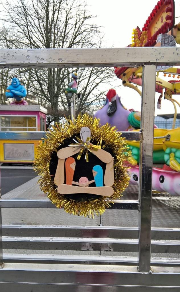 mini-crèche de Noel