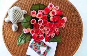 fleurs artificielles Babou