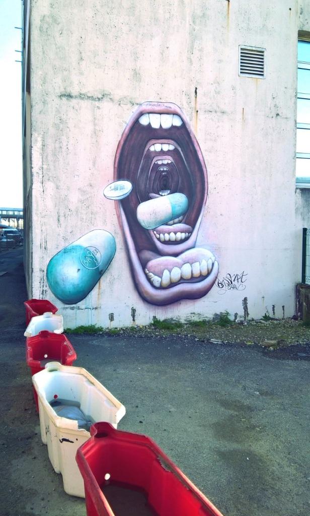 Graffiti à Lorient