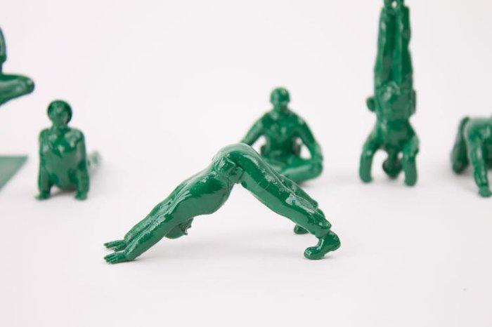 Les soldats et le yoga