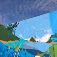 Graffitis sur les docks de Lorient